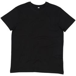 Textiel Heren T-shirts korte mouwen Mantis M01 Zwart