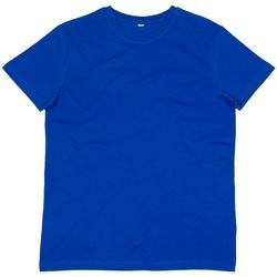 Textiel Heren T-shirts korte mouwen Mantis M01 Koningsblauw