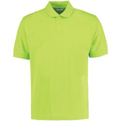 Textiel Heren Polo's korte mouwen Kustom Kit KK422 Kalk groen