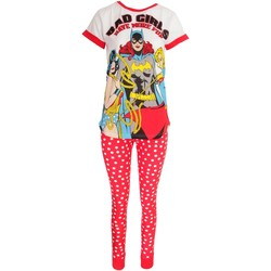 Textiel Dames Pyjama's / nachthemden Dc Comics  Wit