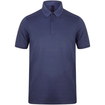 Textiel Heren Polo's korte mouwen Henbury HB460 Marine