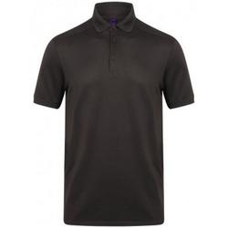 Textiel Heren Polo's korte mouwen Henbury HB460 Donkergrijs