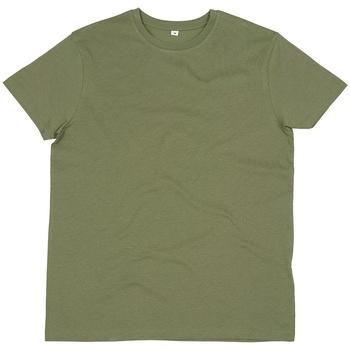 Textiel Heren T-shirts korte mouwen Mantis M01 Zachte Olijf