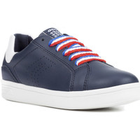 Schoenen Jongens Lage sneakers Geox J825VC 043BC Blauw