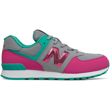 Schoenen Meisjes Lage sneakers New Balance NBGC574KWT Grijs