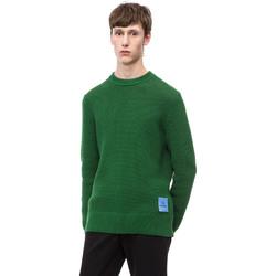 Textiel Heren Truien Calvin Klein Jeans K10K102731 Groen