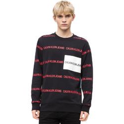 Textiel Heren Truien Calvin Klein Jeans J30J309796 Zwart