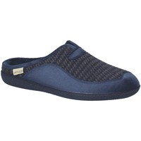Schoenen Heren Sloffen Grunland CI1402 Blauw