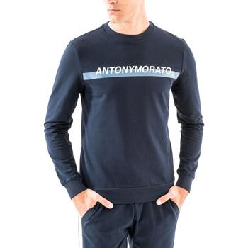 Textiel Heren Sweaters / Sweatshirts Antony Morato MMFL00454 FA150048 Blauw