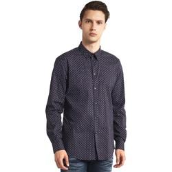 Textiel Heren Overhemden lange mouwen Gaudi 821BU45005 Grijs
