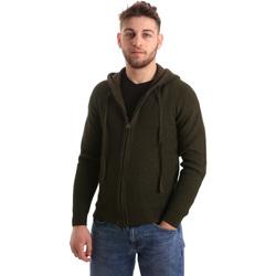 Textiel Heren Vesten / Cardigans U.S Polo Assn. 50519 52229 Groen