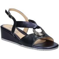 Schoenen Dames Sandalen / Open schoenen Melluso K95049 Blauw