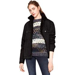 Textiel Dames Wind jackets Pepe jeans PL401559WD0 Zwart