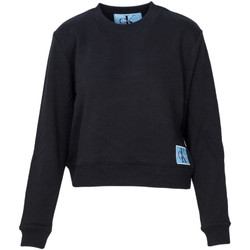 Textiel Dames Sweaters / Sweatshirts Calvin Klein Jeans J20J208047 Zwart