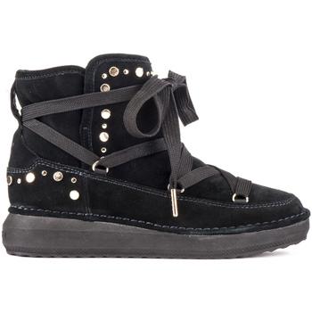 Schoenen Dames Enkellaarzen Lumberjack SW48603 001 R76 Zwart
