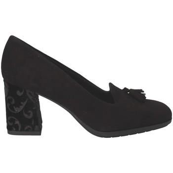 Schoenen Dames Mocassins Grunland SC4072 Zwart