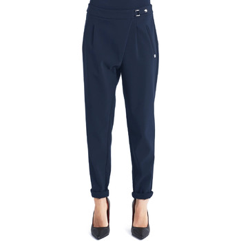 Textiel Dames Chino's Gaudi 821BD25031 Blauw
