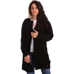 Textiel Dames Vesten / Cardigans Gaudi 821BD53024 Zwart