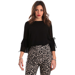 Textiel Dames Tops / Blousjes Gaudi 821FD45036 Zwart
