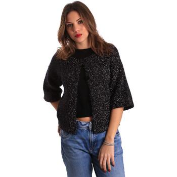 Textiel Dames Vesten / Cardigans Gaudi 821FD53044 Zwart