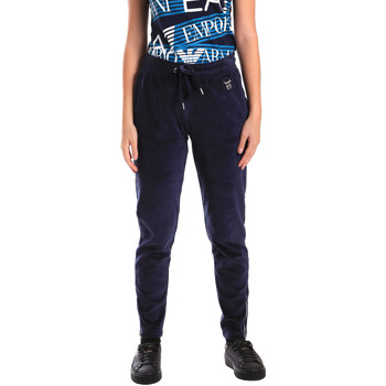 Textiel Dames Trainingsbroeken Ea7 Emporio Armani 6ZTP87 TJN9Z Blauw