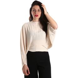 Textiel Dames Tops / Blousjes Denny Rose 821DD40001 Beige