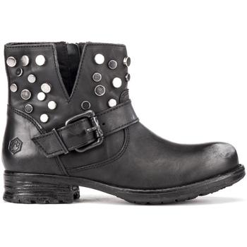 Schoenen Dames Enkellaarzen Lumberjack SW53003 001 Q12 Zwart