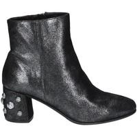 Schoenen Dames Enkellaarzen Elvio Zanon I5503G.ELZMPHANTRA Zwart