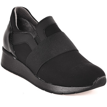 Schoenen Dames Instappers Melluso R25018T Zwart