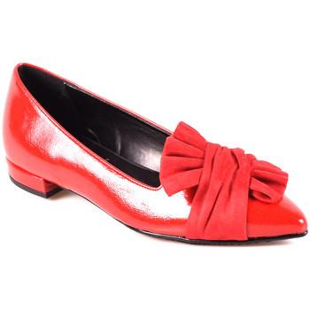 Schoenen Dames Ballerina's Grace Shoes 2216 Rood