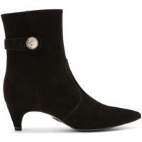 Schoenen Dames Enkellaarzen Carmens Padova A42191 Zwart