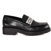 Schoenen Dames Mocassins Mally 5896 Zwart