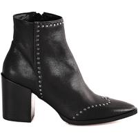 Schoenen Dames Enkellaarzen Mally 6333 Zwart