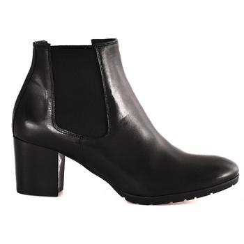 Schoenen Dames Enkellaarzen Mally 6418 Zwart