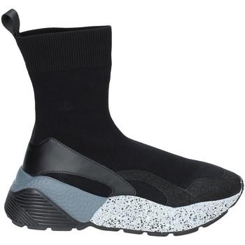 Schoenen Dames Hoge sneakers Studio Italia STAR 04 Zwart