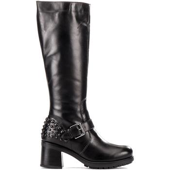 Schoenen Dames Hoge laarzen Lumberjack SW49507 001 Q12 Zwart