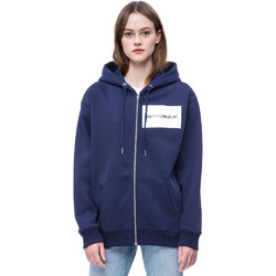 Textiel Dames Sweaters / Sweatshirts Calvin Klein Jeans J20J207832 Blauw