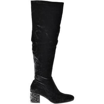 Schoenen Dames Hoge laarzen Elvio Zanon I1903B Zwart