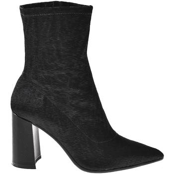 Schoenen Dames Enkellaarzen Elvio Zanon I3104X Zwart
