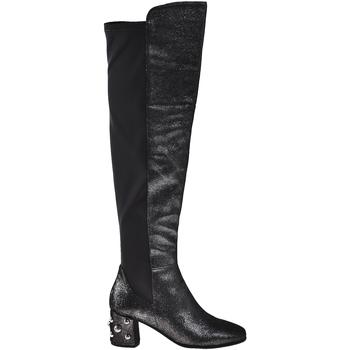 Schoenen Dames Hoge laarzen Elvio Zanon I5504G Zwart
