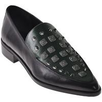 Schoenen Dames Mocassins Elvio Zanon I7703G Zwart