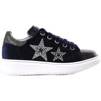 Schoenen Meisjes Lage sneakers NeroGiardini A830622F Blauw