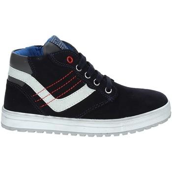 Schoenen Kinderen Hoge sneakers Asso 68709 Blauw