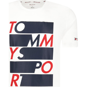 Textiel Heren T-shirts korte mouwen Tommy Hilfiger S20S200052 Wit