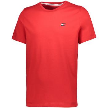 Textiel Heren T-shirts korte mouwen Tommy Hilfiger S20S200074 Rood
