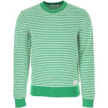 Textiel Heren Truien Calvin Klein Jeans K10K103327 Groen