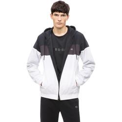 Textiel Heren Wind jackets Calvin Klein Jeans 00GMH8O534 Wit