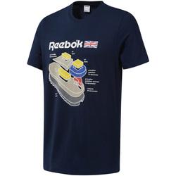 Textiel Heren T-shirts korte mouwen Reebok Sport DT9445 Blauw