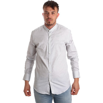 Textiel Heren Overhemden lange mouwen Antony Morato MMSL00526 FA440024 Wit