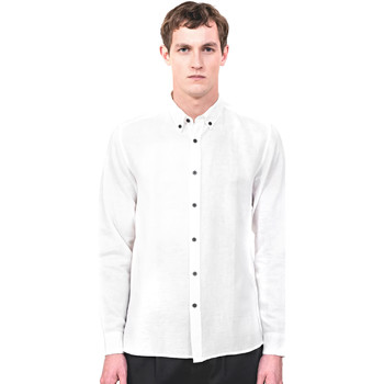 Textiel Heren Overhemden lange mouwen Antony Morato MMSL00530 FA400051 Beige
